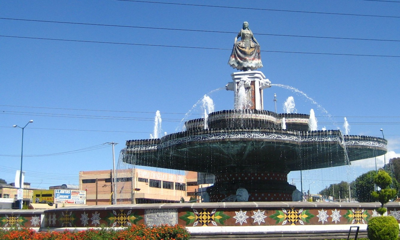 Fuente de la China Poblana
