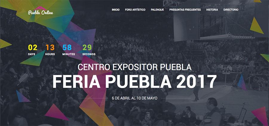 Micrositio Feria de Puebla 2017