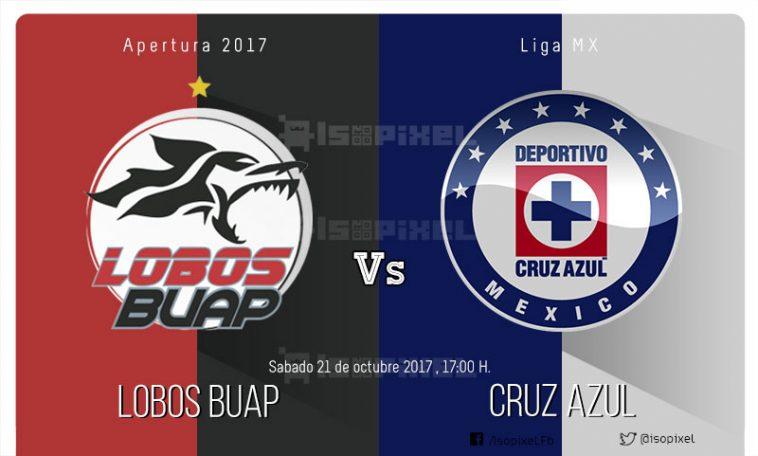 Lobos BUAP vs Cruz Azul en vivo